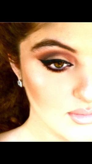 My daily makeup look ❤
