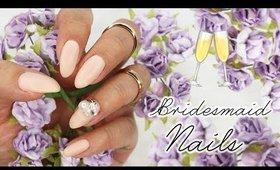 Bridesmaid Chic Summer Nails ♡
