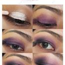 Luscious Violet Makeup