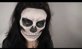 Lady Gaga 'Born This Way' Music Video / Rick Genest Inspired Makeup Tutorial