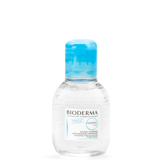 Bioderma Hydrabio H2O 100 ml product smear.