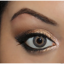 Half baked-Urban decay Naked pallete look 1
