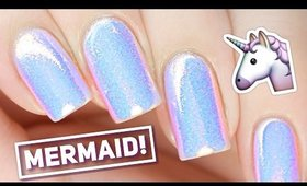 Mermaid Powder Nails! LIVE with Sandi 🐚✨