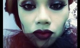 Halloween Skull Witch Makeup Tutorial