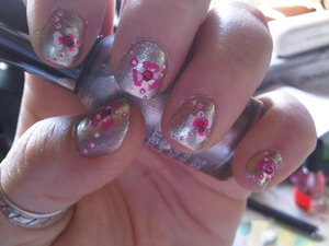 Entry to MadamLuck's Summertime Nail Art Contest