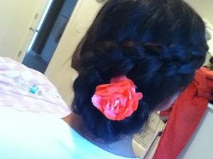 My sister's hair