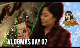 🎄 VLOGMAS DAY 07: KUNG FU TEA NOLA SOFT OPENING, MY CHRISTMAS STAIR RAILS | MakeupANNimal