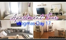 My First Apartment Tour Switzerland   Vlogmas Day 17 ♡