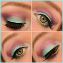 Mermaid look collage