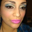 Barbie Blue Cut-Crease