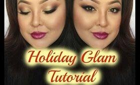 Holiday Glam 2014 Tutorial | TinaMarieMakeup