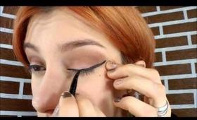 Maquillaje simple para hacer ojos pequeños - Jugando con el maquillaje