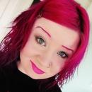 Simple makeup, but matchy eyebrows!