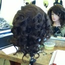 Barrel Pin Curls