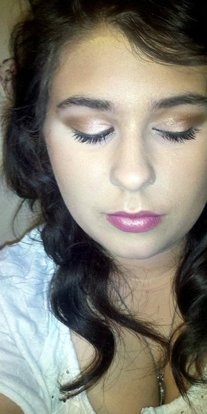 Super easy DRUGSTORE fall makeup, TUTORIAL ON THIS COMING SOON!!