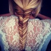 Fish tail braid tutorial !