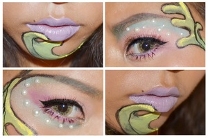 My look inspire by the treasure of the sea xx