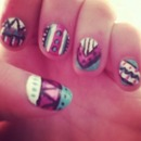 Tribal Nail Design!