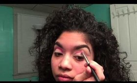 Cut crease using MUFE makeup forever flash palette UPDATED CUT CREASE 2015