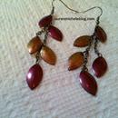 DIY Autumn Leaves Earrings