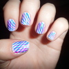 Striped Nails