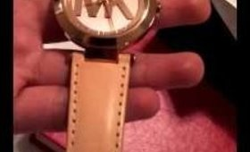 MK WATCH GOLD