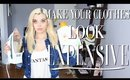 """How To Make Your Clothes LAST 