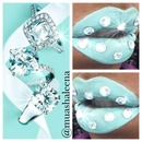 Tiffany and Co Inspired Lips
