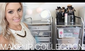 Makeup Collection & Storage! ♡ Shaaanxo