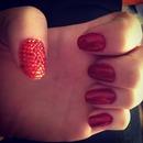 sparkly gem nails