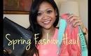 Spring Fashion Haul: HauteLook Style (Olive &Oak, Nila Anthony, Ruby Saks)