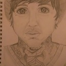 My portrait of Oli Sykes <3