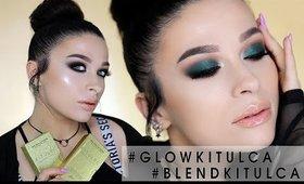 💚🖤 Pierwszy raz z #GLOWKITULCA i #BLENDKITULCA - makijaż NOWOŚCIAMI MUR x KITULEC 🖤💚