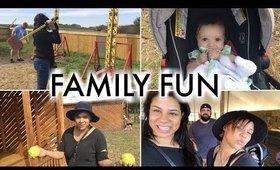 A Day at the Fun Farm   VLOG #42