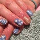 Spring floral nails
