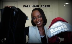 FALL HAUL 2015 - H&M, DYNAMITE, FOREVER 21, ROOTS AND MORE!!!