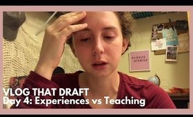 Am I an Authortuber?   Vlog That Draft (Day 4 & 5 - Oct 18 & 19)