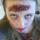 Zombie Head Wound