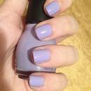 Simple lavender nails