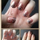 dotted nails :)