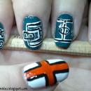Euro 2012 Nails