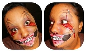 Halloween Tutorial: Pulled Skin Happy face