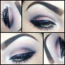 Glittered eyeliner