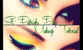 "St.Patricks Day ""Pot of Gold"" Inspired Makeup Tutorial"