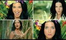HOW TO: KATY PERRY - ROAR - MUSIC VIDEO -  INSPIRED MAKEUP TUTORIAL