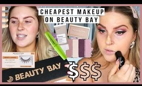 full face of the CHEAPEST MAKEUP on BEAUTY BAY! 😮