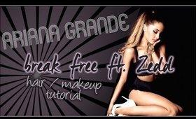 Ariana Grande Break Free Ft. Zedd tutorial