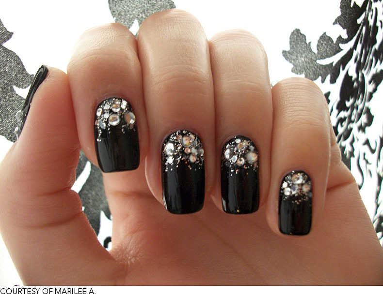 Six prom perfect nail art ideas beautylish marilee a prinsesfo Images