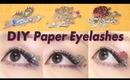 DIY Deco Paper Eyelashes / ペーパーアイラッシュのデコり方