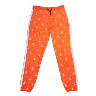 Jeffree Star Cosmetics Safety Orange Track Jogger